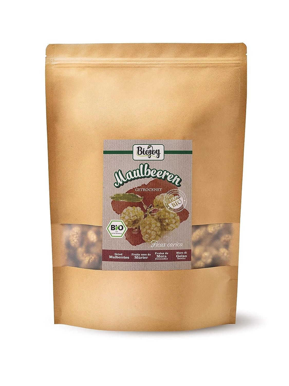 Biojoy Moras blancas ecológicas, sin azúcar y conservantes (1 kg ...
