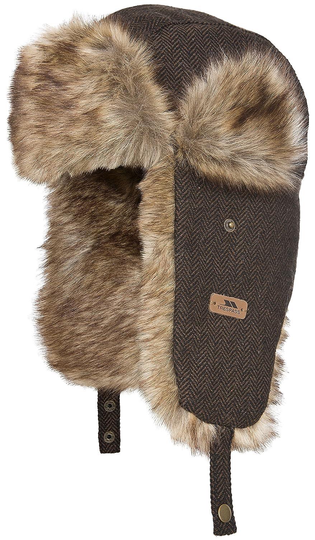 b0e4ba9b169483 Trespass Brinkley, Pecan, Warm Winter Hat with Fake Fur for Women, Brown:  Amazon.co.uk: Sports & Outdoors