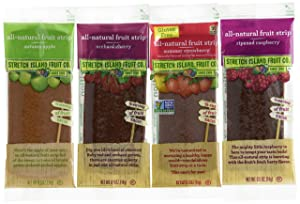 Stretch Island Fruit Leather Variety Pack 48-Count (Pack of 4, 192 total)