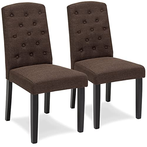 Best Choice Products Fabric Parsons Dining Chair