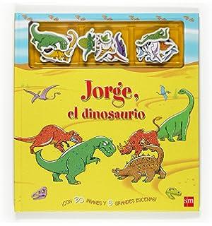 Jorge, el dinosaurio / Magnetic Dinosaur Story Book (Spanish Edition)