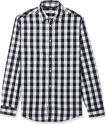 Jack & Jones Jjegingham Shirt L/S Camisa para Hombre