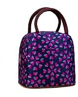 Fashion Zipper Lunch Bag Picnic Box Cosmetic Bag for Women Girls Tote Handbag