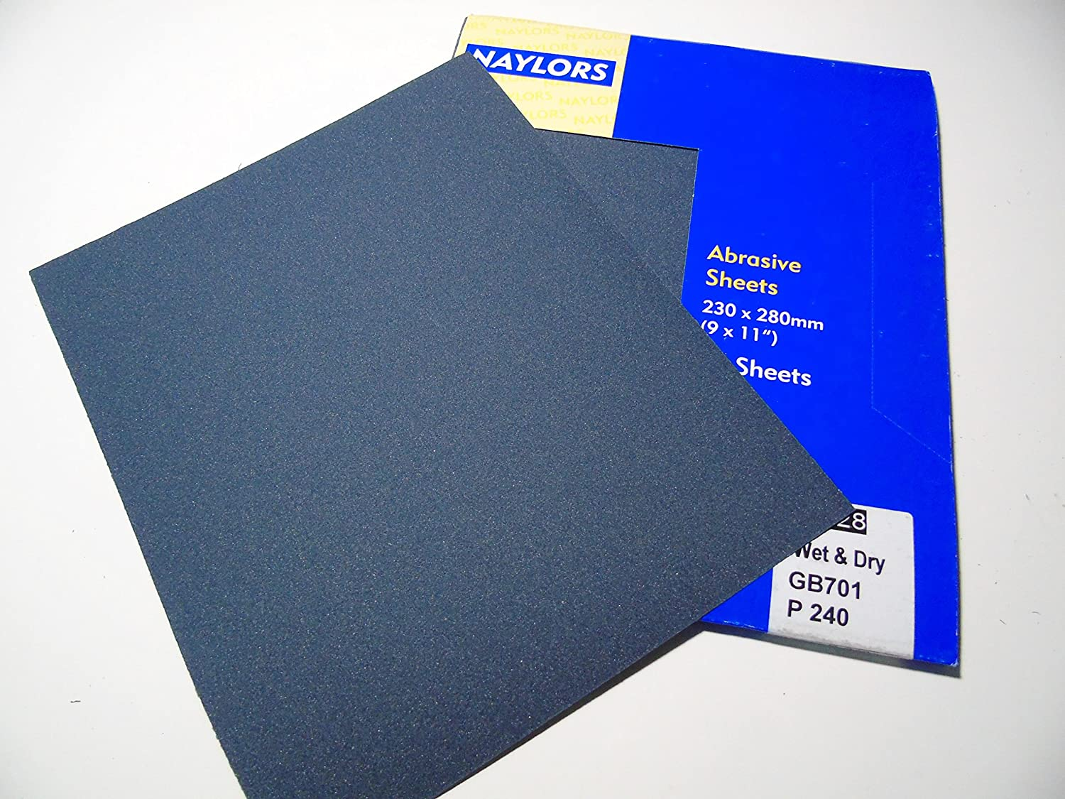 Wet and Dry paper sandpaper Set different grades Starcke wet and dry paper