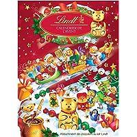 Calendario de Adviento Navidad 2020 Chocolates Lindt. Sorpresas de Bombones de Chocolate con Leche y de Chocolate con…