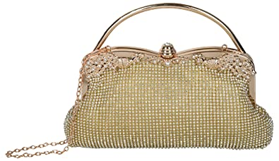 04442e5cadd2 Lada Women's Gold Fashionable and Stylish Pu Leather Sling Bag For Girl &  Women