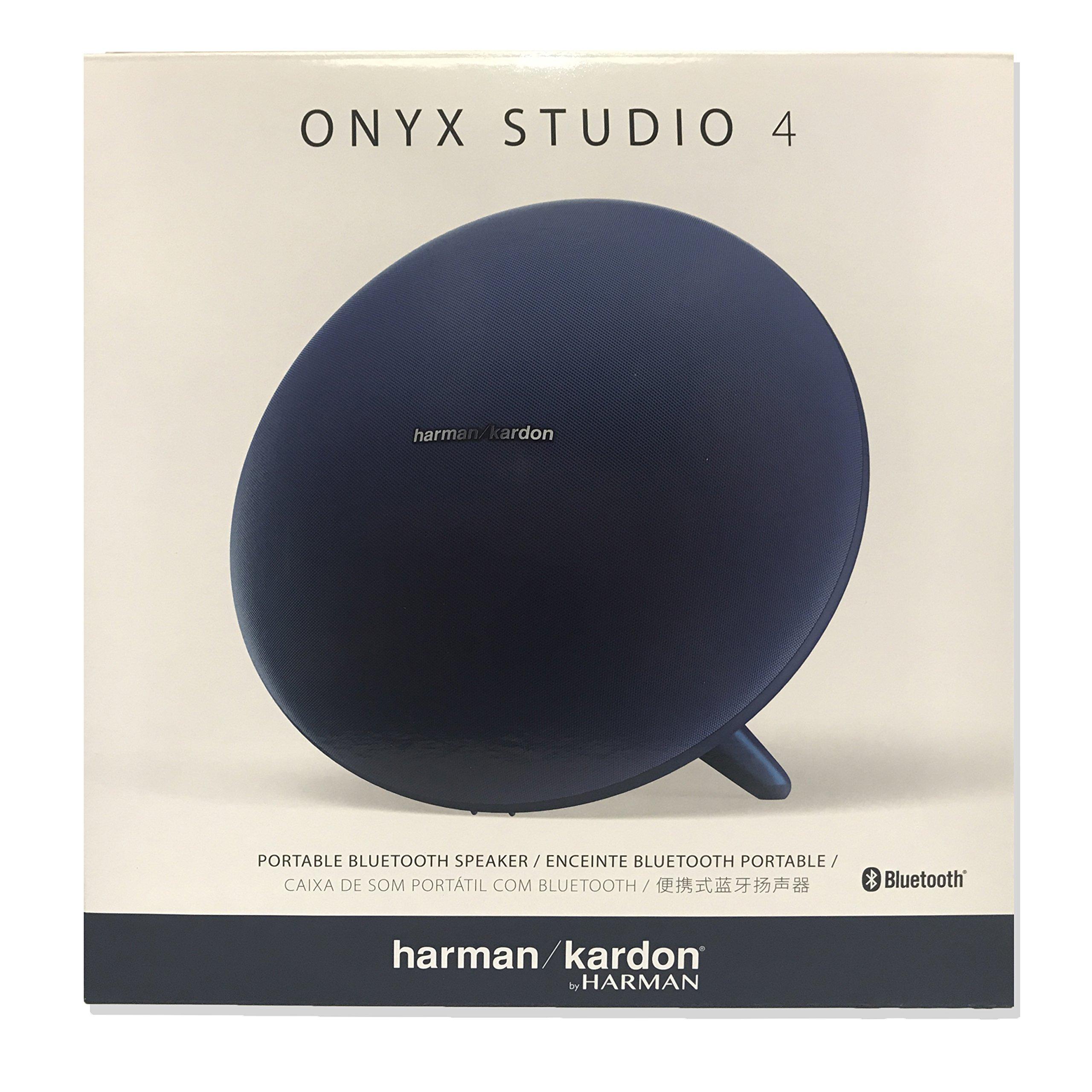 Harman Kardon Onyx Studio 4 Wireless Bluetooth Speaker Blue (New model) by Harman Kardon (Image #1)
