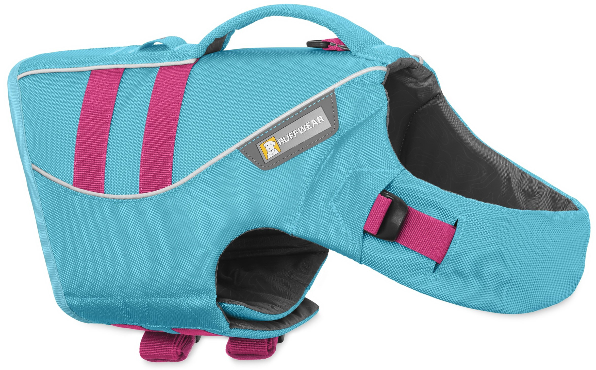 RUFFWEAR DOG FLOAT COAT ♦ NEW PREMIUM LIFE JACKET BUOYANT SECURE REFLECTIVE ♦ ALL COLORS AND SIZES (XL, Blue Atoll)