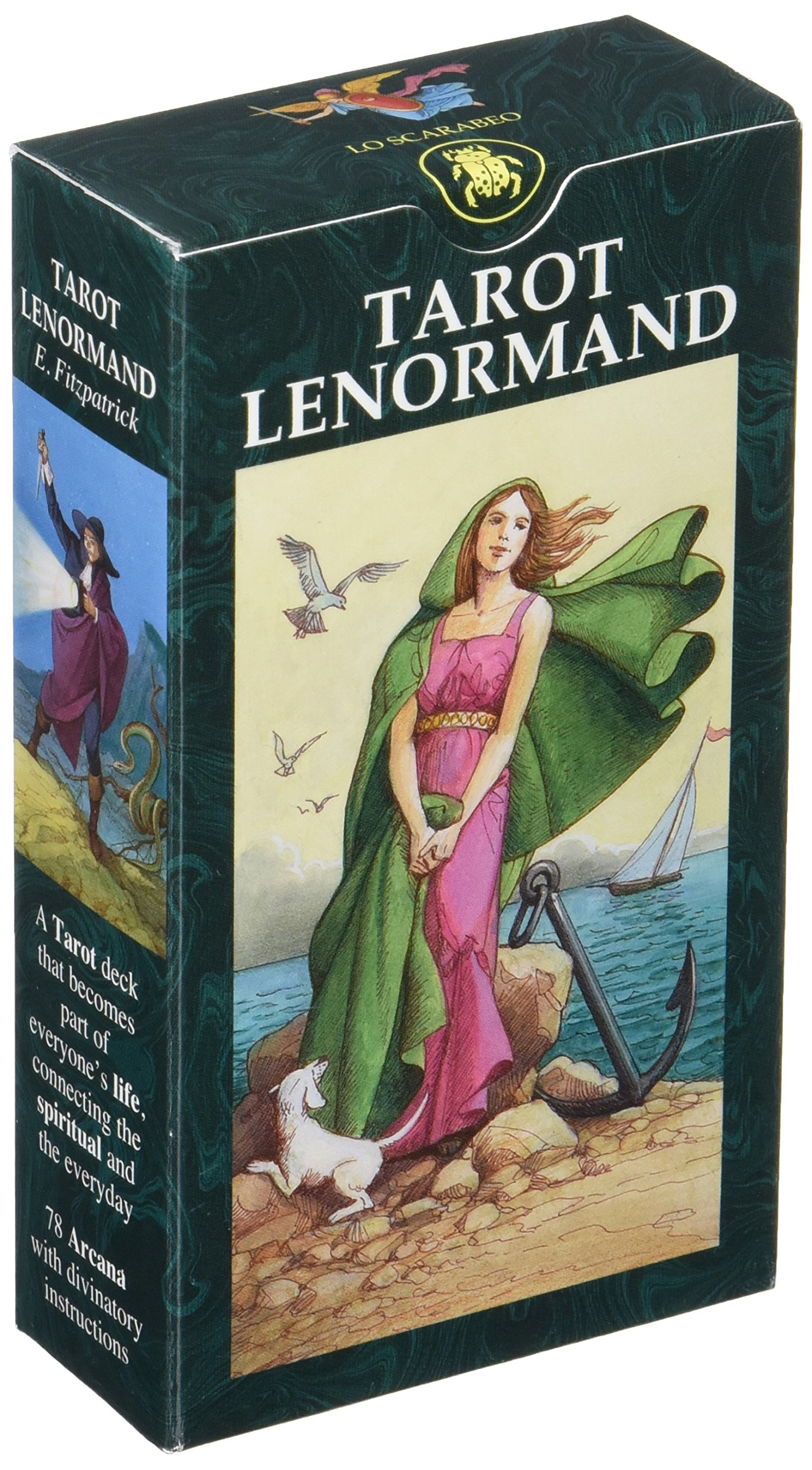 Tarot Lenormand (English and Spanish Edition): Lo Scarabeo ...