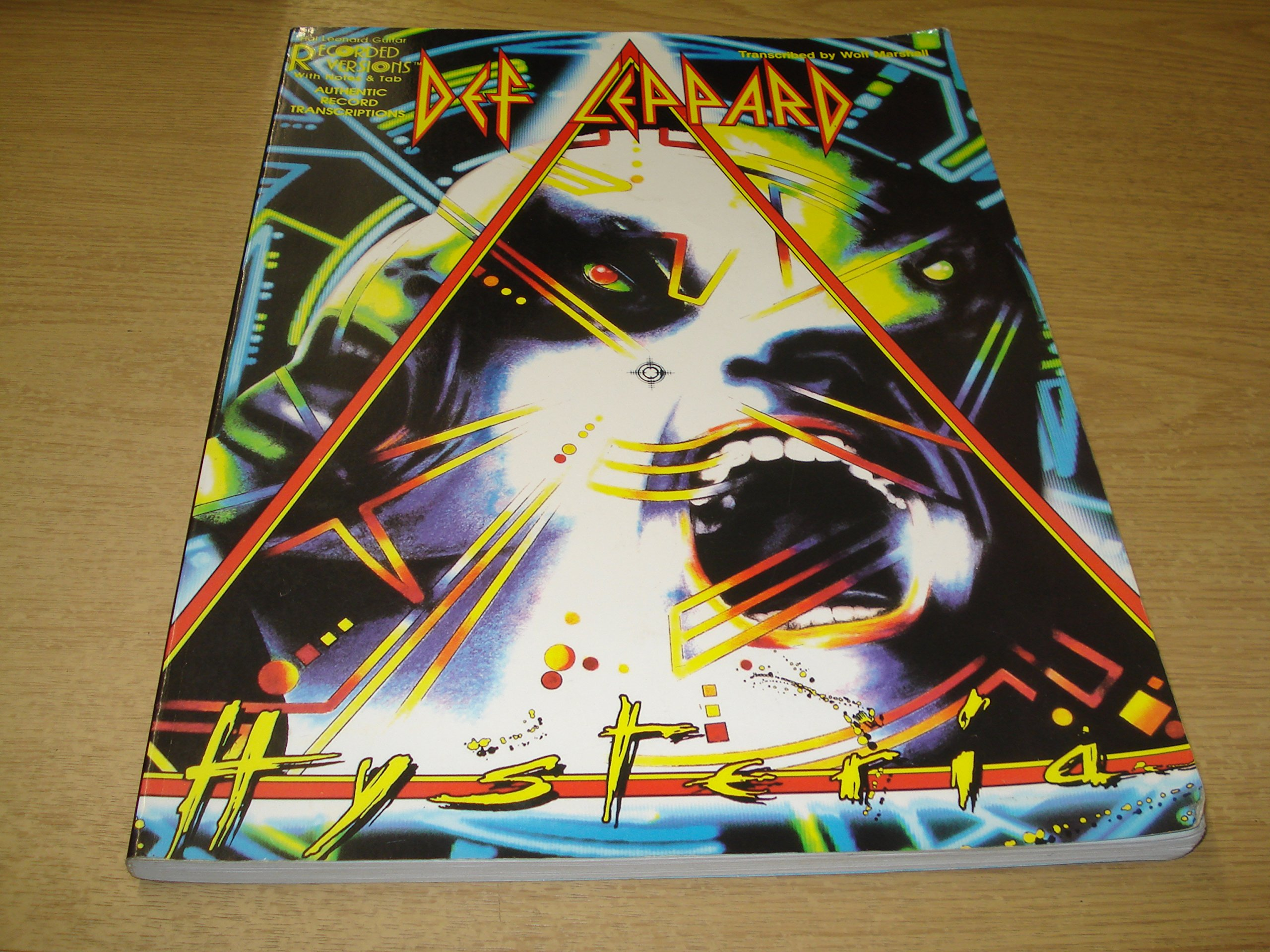 Def Leppard - Hysteria (Authentic Record Transcriptions With