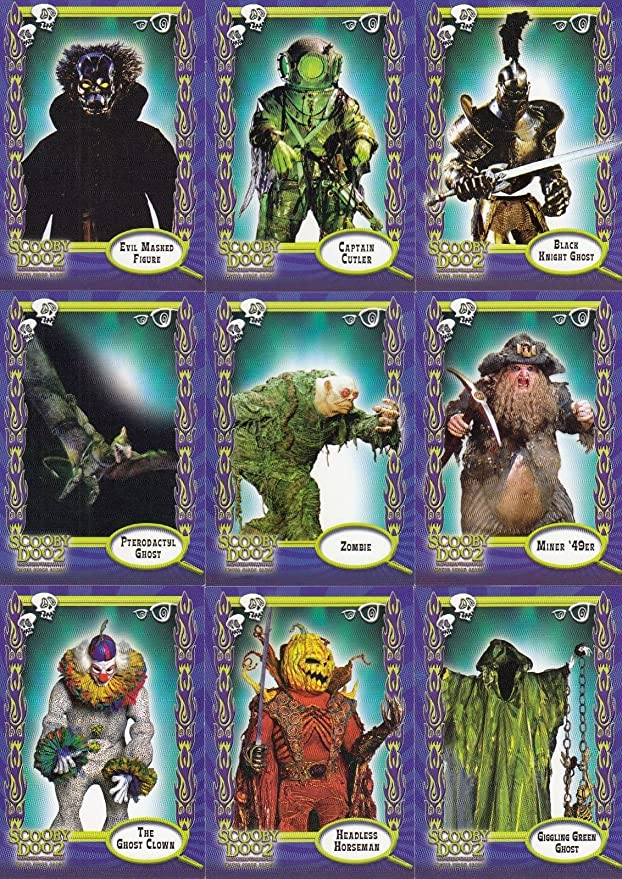 Scooby Doo Movie 2 Monsters Unleashed 2004 Inkworks Complete Base Card Set Of 72 At Amazon S Entertainment Collectibles Store