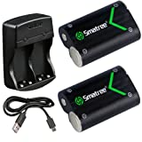Amazon Price History for:Smatree Rechargeable NI-MH Battery 2000mAH (2-Pack) + Dual-Channel Charger for Xbox One / Xbox One S Wireless Controller