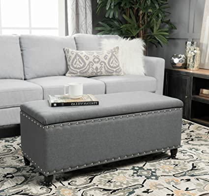 Gray Coffee Table With Storage 9