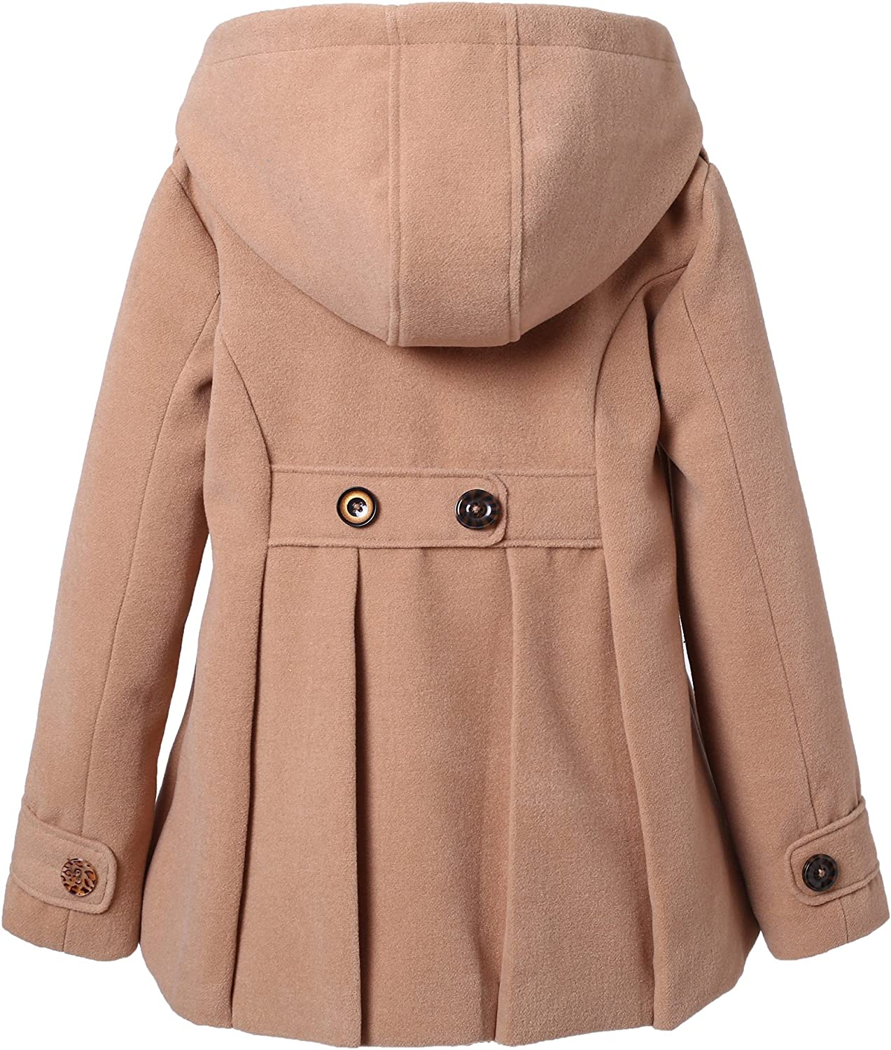 Richie House Girls Microfleece Jacket with Decorative Buttons RH1064