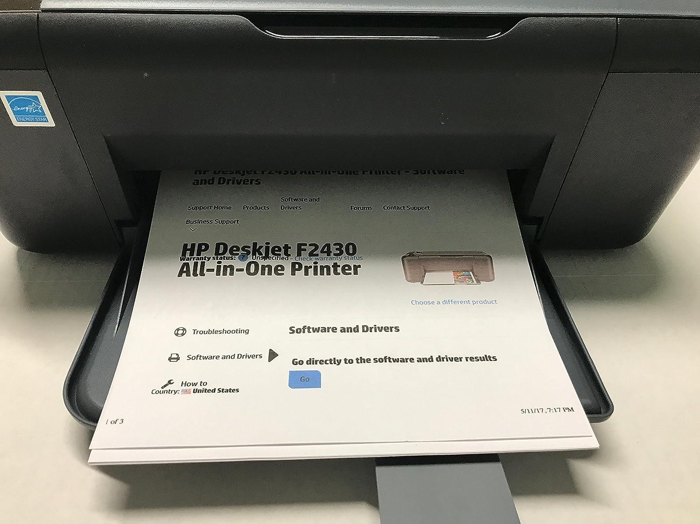 Amazon.com: HP Deskjet F2430 All-in-One Printer Scanner Copier W/Windows 7  Compatibility: Electronics