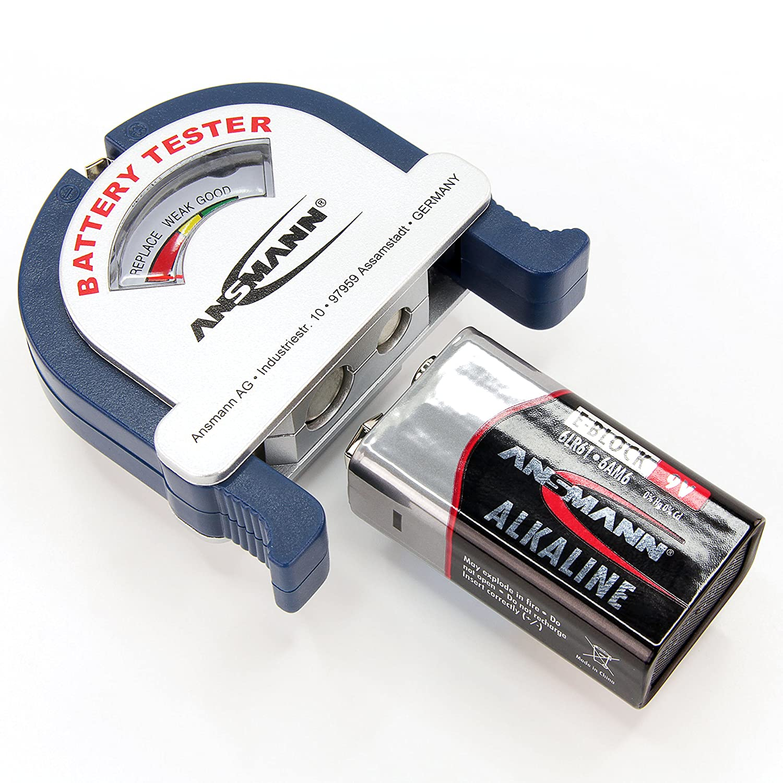 Medidor de energ/ía y bater/ía Ansmann 1900-0037 Negro AAA, LCD