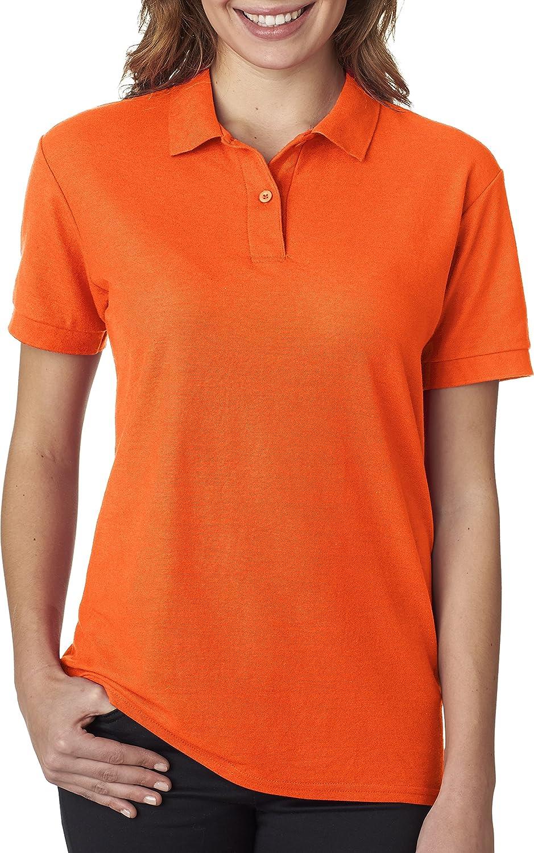 Gildan Ladies Dryblend Double Pique Polo Shirt 72800l Safety
