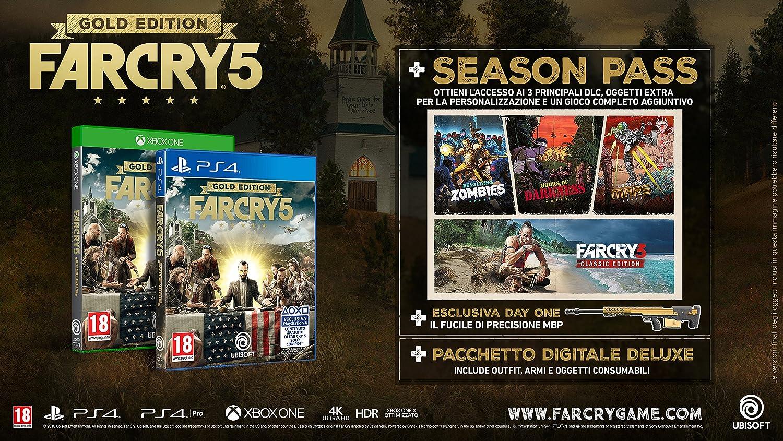 Far Cry 5 Gold Edition: Amazon.es: Videojuegos