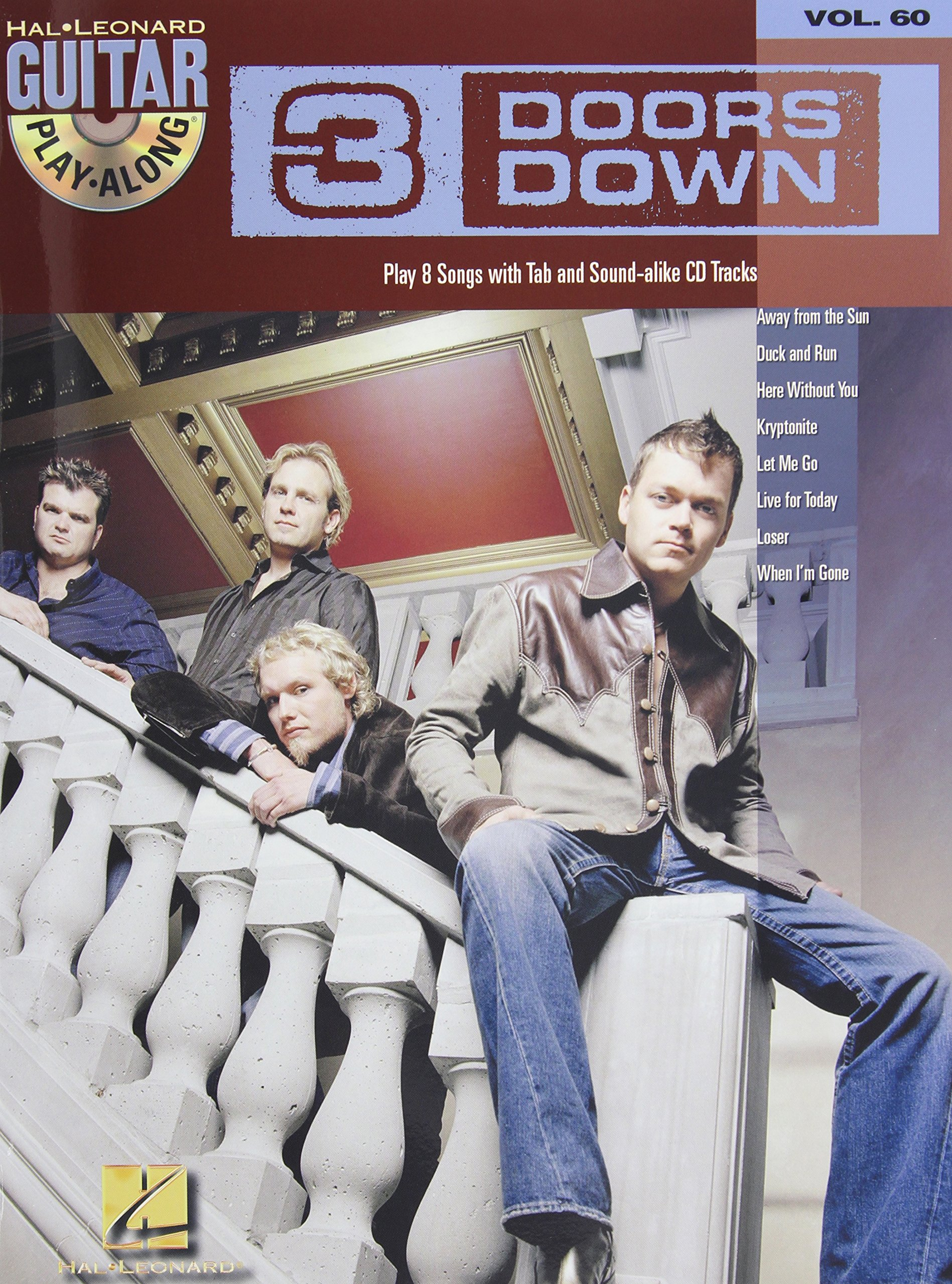 Download 3 DOORS DOWN VOLUME 60 BK/CD GUITAR PLAY ALONG pdf epub