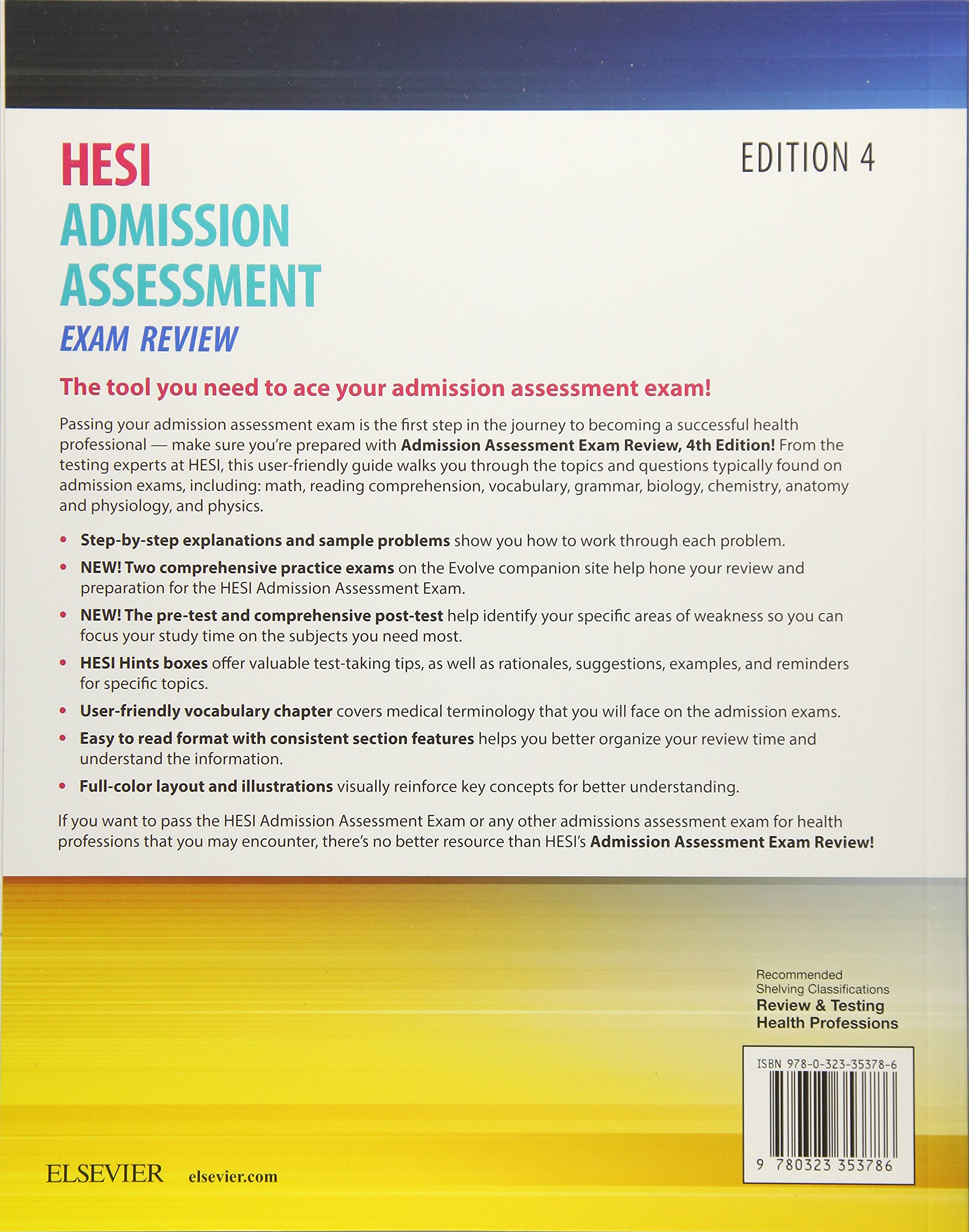 Admission Assessment Exam Review: Hesi: Amazon.com.mx: Libros