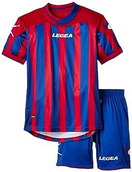 Legea Kit Salonicco conjunto camiseta + pantalón corto de fútbol para niños, camiseta, color