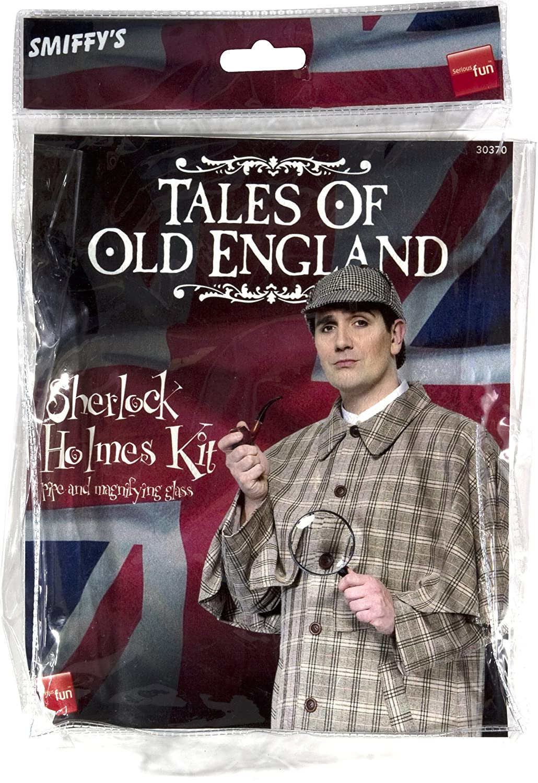 Smiffy Sherlock Holmes Accessory Kit-