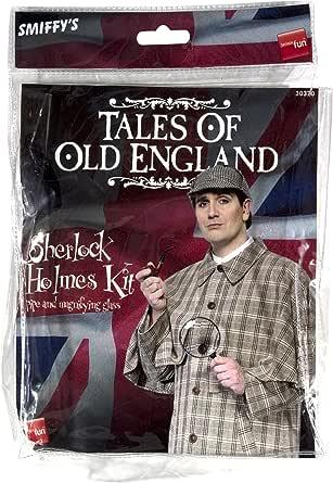 Smoking Pipe Drama Sherlock Holmes Detective Pipe Old Man Wooden Pipe FancyDress