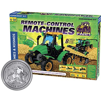 Thames & Kosmos 620381 Remote Control Machines: Farm Science Experiment Kit: Toys & Games