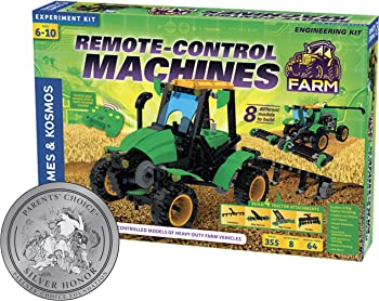Thames & Kosmos Remote Control Machines Farm Engineering Kit