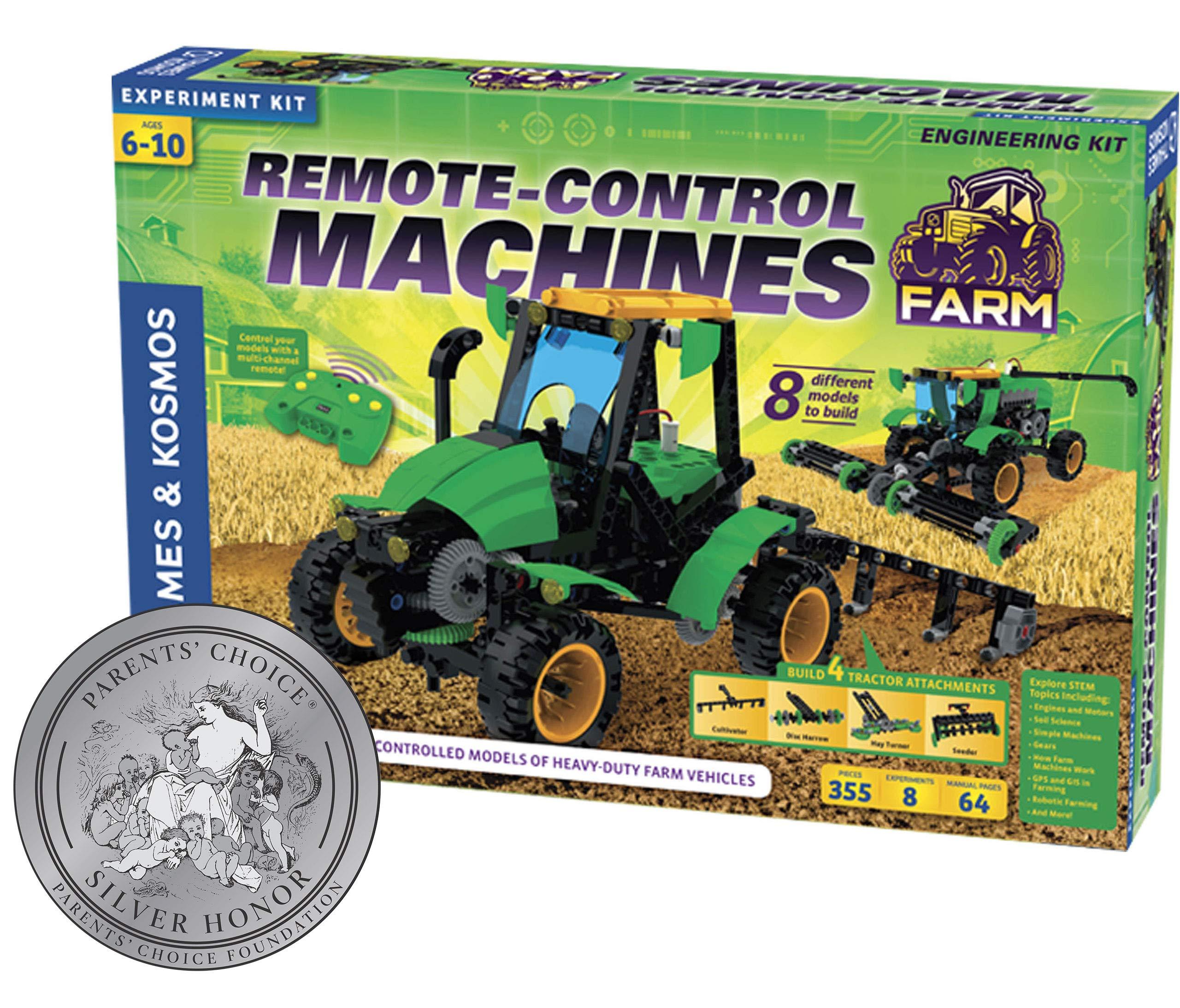 Thames & Kosmos 620381 Remote Control Machines: Farm Science Experiment Kit by Thames & Kosmos (Image #1)