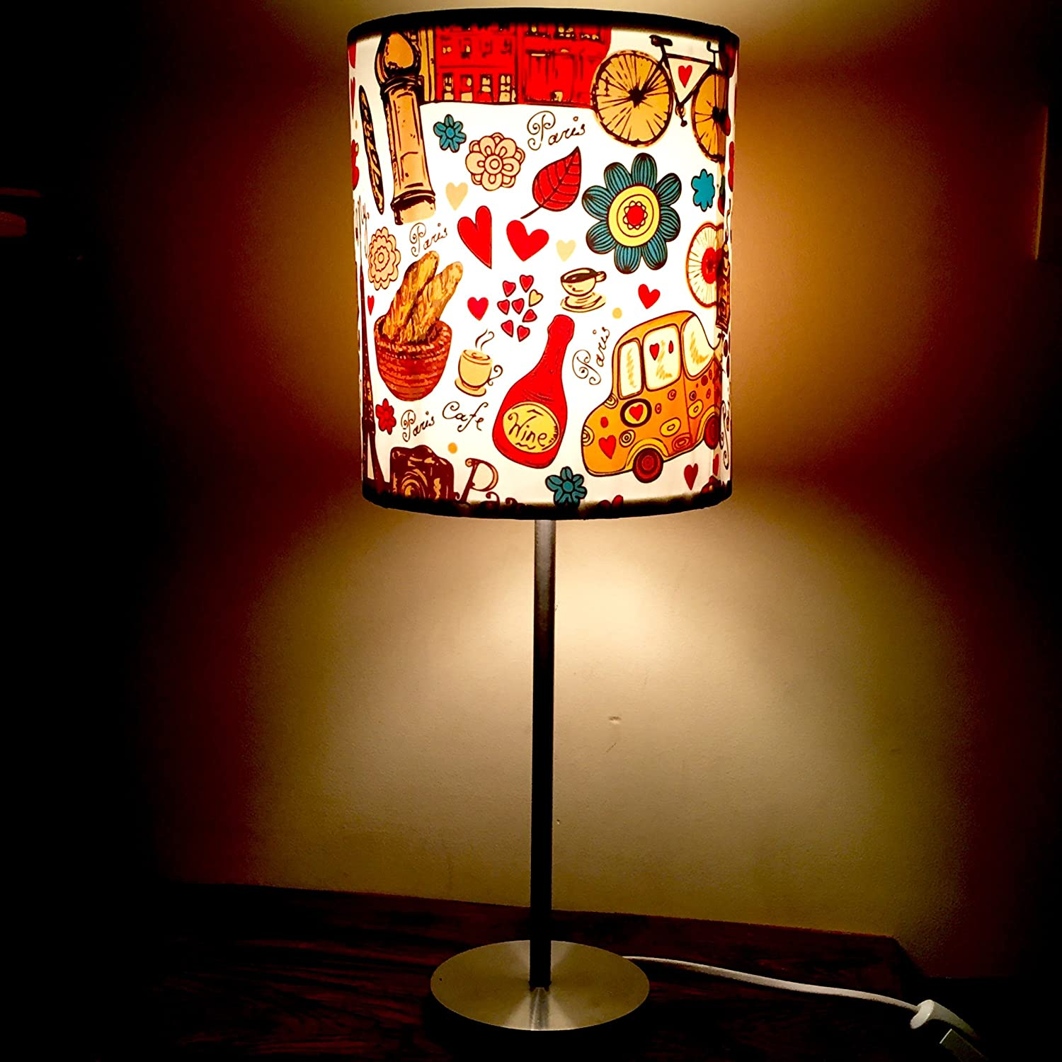 Buy Nutcase Nc Pg Sslamp 0002 40 Watt Table Lamp Multicolour Online At Low Prices In India Amazon In