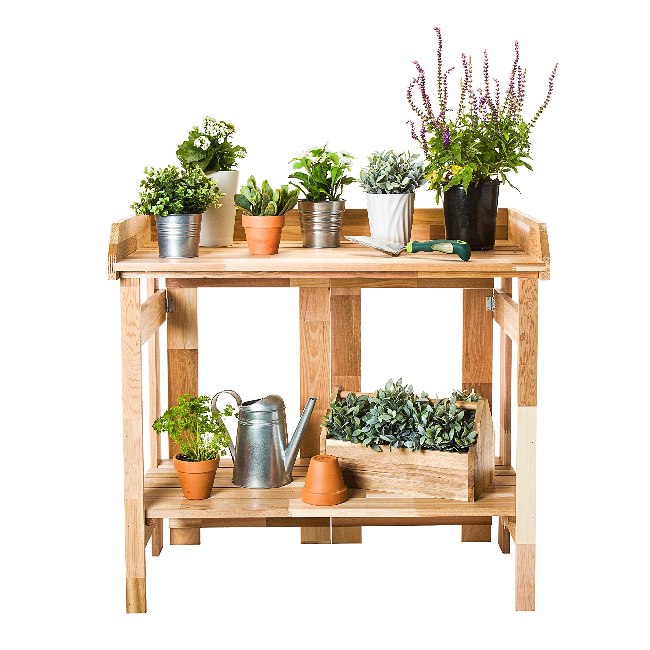 CedarCraft Folding Potting Bench & Event Table