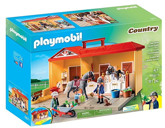 PLAYMOBIL Take Along Horse Stable