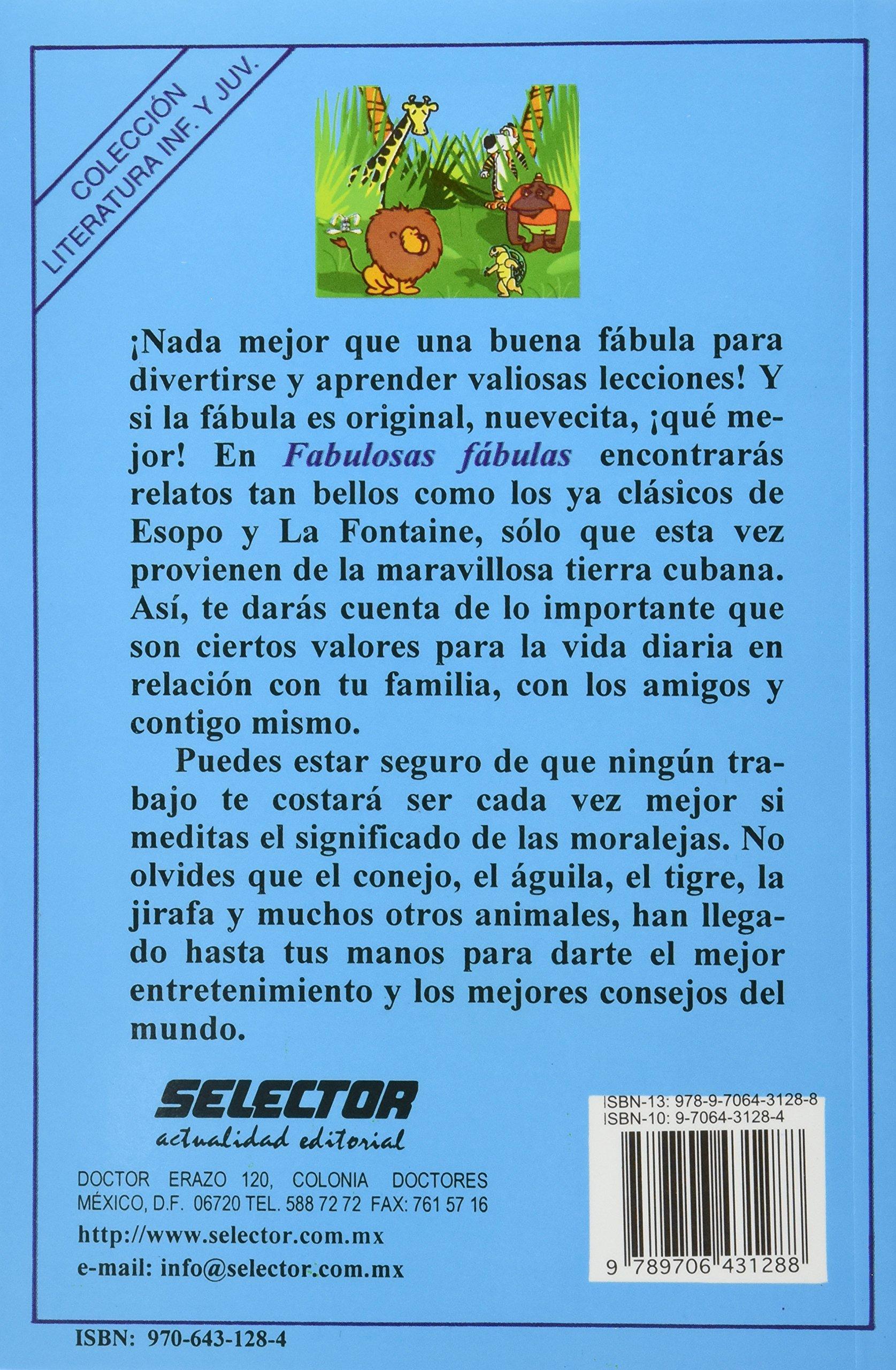 Fabulosas fabulas (Literatura Infantil Y Juvenil/ Childrens and Juvenile Literature) (Spanish Edition): Heriberto Feraudy Espino, Eduardo Rocha: ...