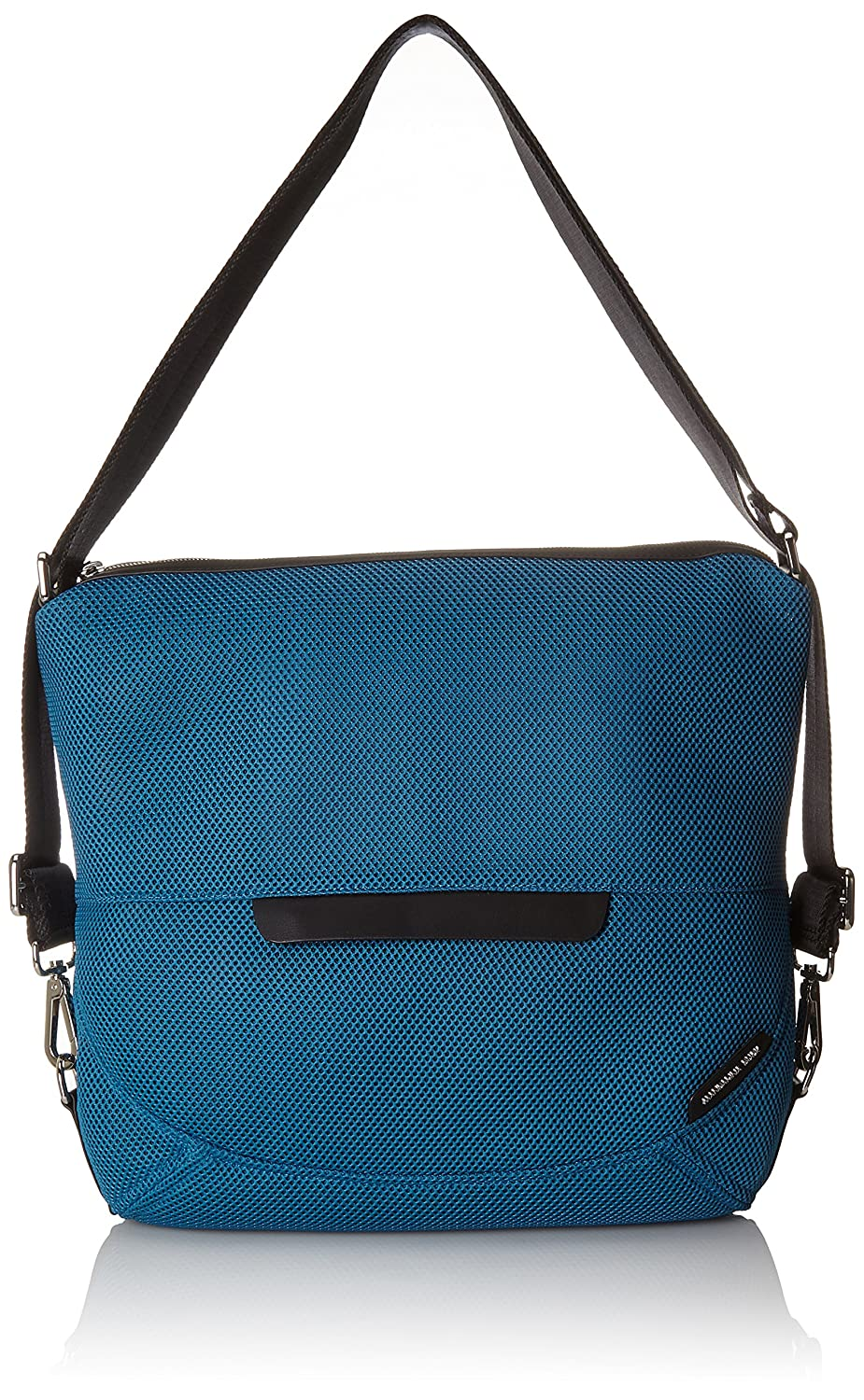 bluee (Fjord bluee 22p) Mandarina Duck Women's Slide Mesh Tracolla Shoulder Bag