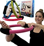 "SISYAMA Pilates Ring Toning Fitness Magic Circle 14"" Best Resistance GUARANTEE"