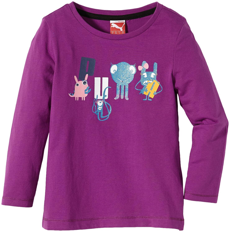 Puma Mädchen T-Shirt Pumaschool Long Sleeve Tee 826047 02