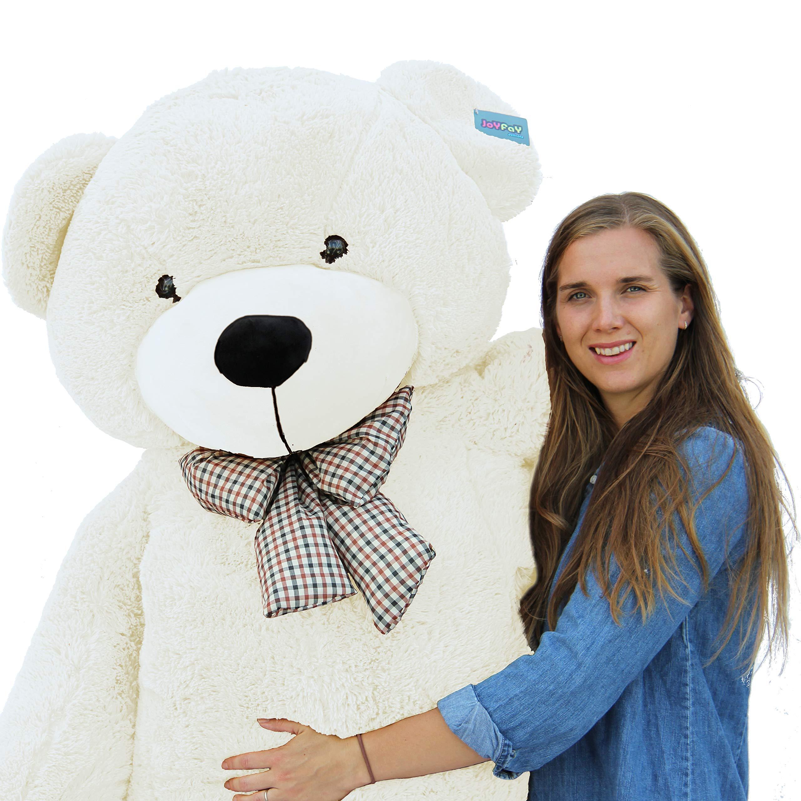 Joyfay Giant Teddy Bear 78''(6.5 Feet) White by Joyfay