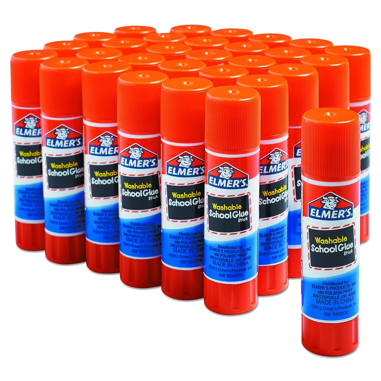 30-pack of Elmers Glue Sticks.