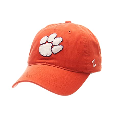 d59119c45e7 Image Unavailable. Image not available for. Color  Zephyr NCAA Clemson  Tigers Men s Scholarship Relaxed Cap ...