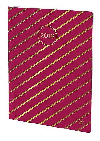 Quo Vadis Weekly Large - Agenda 2019, diseño rayas, 15 x 21 ...