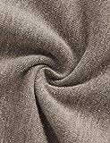 SweatyRocks Sweatshirt Women's Pullover Fleece Drop Shoulder Letter Hoodie Brown#1 M