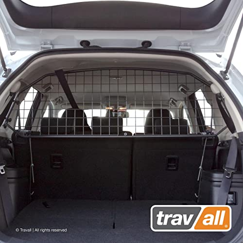 Travall Guard Compatible with Mitsubishi Outlander 2012-Current Outlander Phev 2014-Current TDG1421 – Rattle-Free Steel Pet Barrier