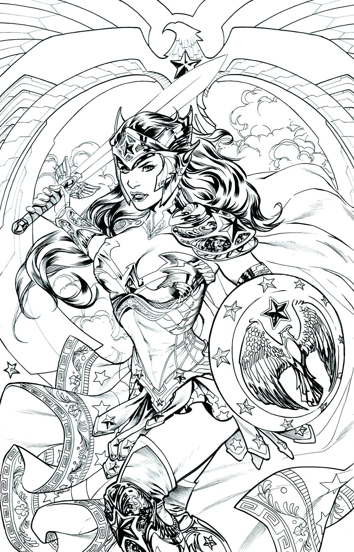 Coloring pages wonder woman - Coloring Pages Wonder Woman 47