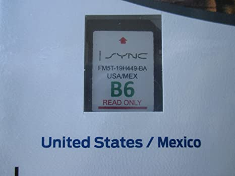 Amazon.com: Ford Lincoln Sync U.s. and Mexico Navigation ...