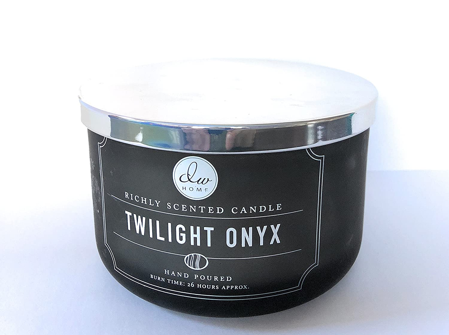 DW Home Twilight Onyx Large Triple Wick Hand Poured Candle 13.4 Oz