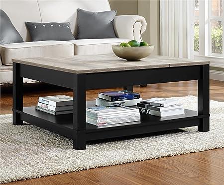 Ameriwood Home Carver Coffee Table (Black)