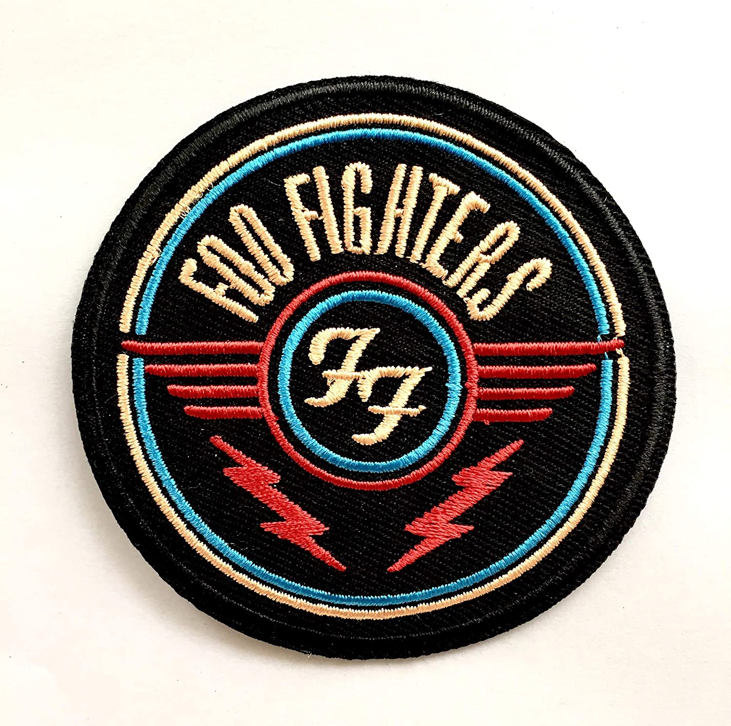 FOO FIGHTERS Iron Sew On Embroidered Patch Badge Grohl Rock Metal Music Clothing