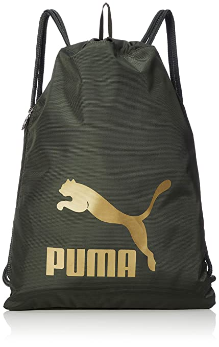 e20cdc5b23aa Amazon.com   Puma Originals Gym Sack Gymnastic Gym Bag Forest Night ...