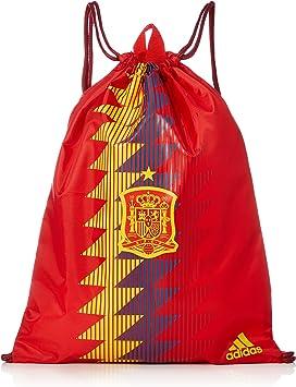 adidas FEF GYMBAG Mochila, Unisex Adultos, Rojo (Rojo/Dorfue ...